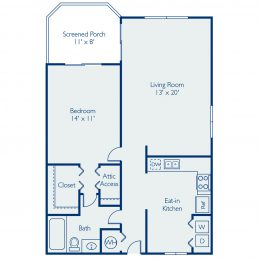 Bell Coconut Creek Antigua Floor Plan