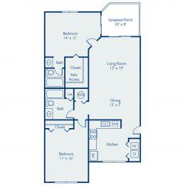 Bell Coconut Creek Barbados Floor Plan