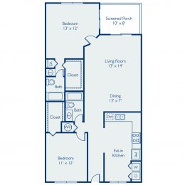 Bell Coconut Creek St Martin Floor Plan